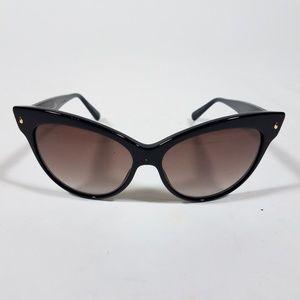 CHRISTIAN DIOR Black Cat Eye Sunglasses